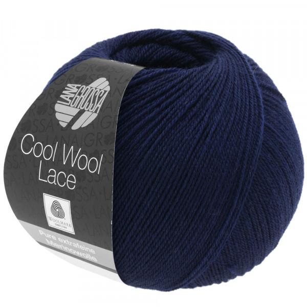 Lana Grossa Cool Wool Lace 023 Nachtblau 50g