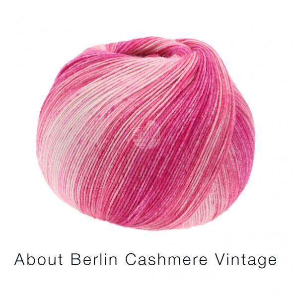 Lana Grossa About Berlin Meilenweit 100 Cashmere Vintage 828 Pinktöne 100g