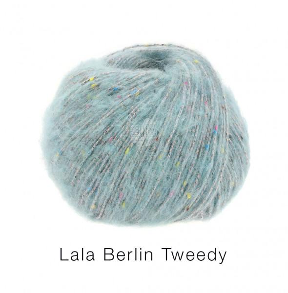 Lana Grossa lala Berlin Tweedy 001Mint 50g