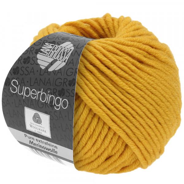 Lana Grossa Superbingo 089 Safrangelb 50g