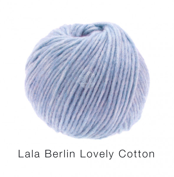 Lana Grossa Lala Berlin Lovely Cotton 017 Flieder 50g