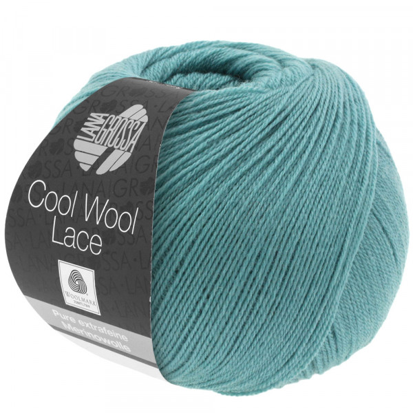 Lana Grossa Cool Wool Lace 005 Minttürkis 50g