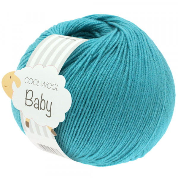 Lana Grossa Cool Wool Baby 277 Türkis 50g