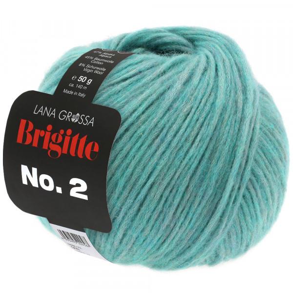 Lana Grossa Brigitte No.2 027 helles Seegrün 50g