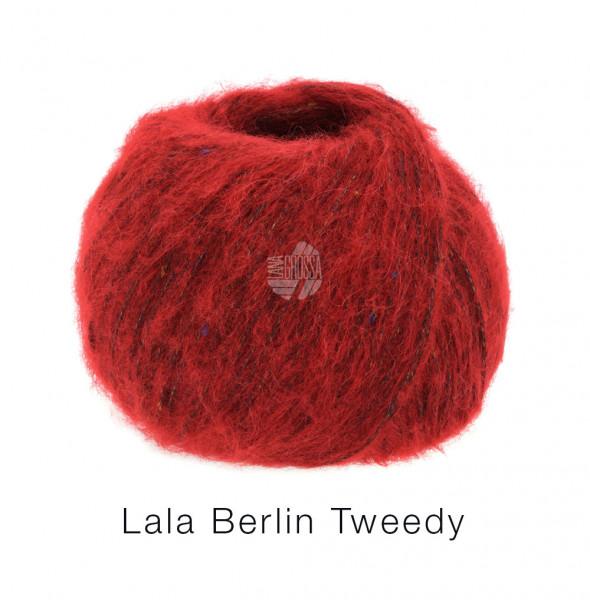 Lana Grossa lala Berlin Tweedy 010 Rot 50g