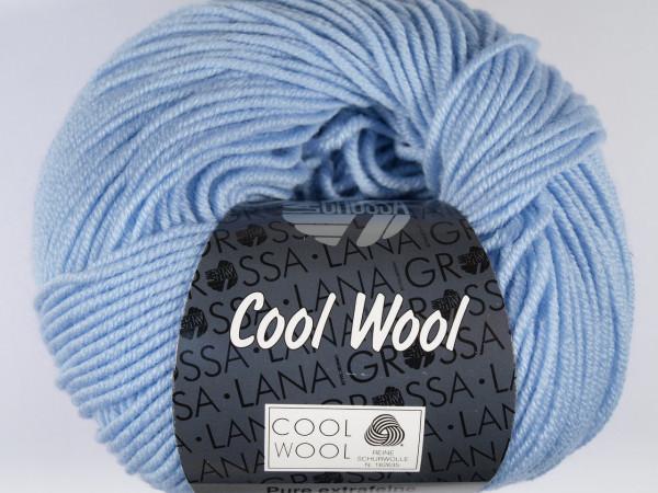 Lana Grossa Cool Wool 2000 430 Himmelblau 50g