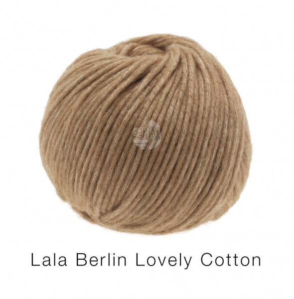Lana Grossa Lala Berlin Lovely Cotton 004 Nougat 50g