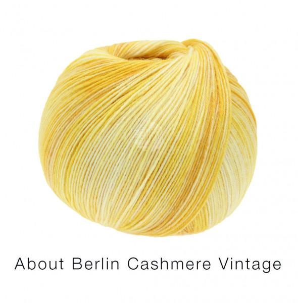 Lana Grossa About Berlin Meilenweit 100 Cashmere Vintage 826 Gelbtöne 100g