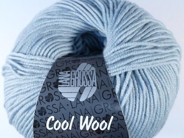 Lana Grossa Cool Wool 2000 2028 Eisgrau 50g