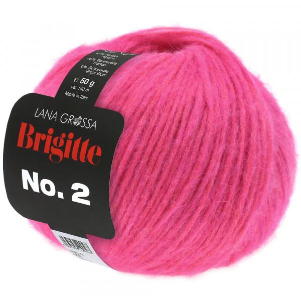 Lana Grossa Brigitte No.2 019 Neonpink 50g