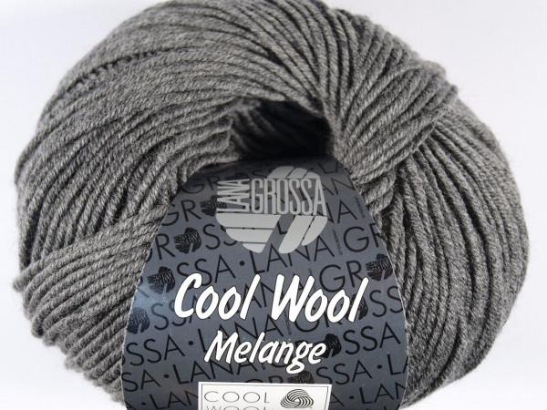 Lana Grossa Cool Wool 2000 - Dunkelgrau meliert