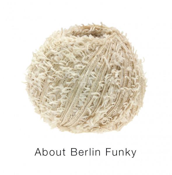 Lana Grossa About Berlin Funky 003 Beige 50g