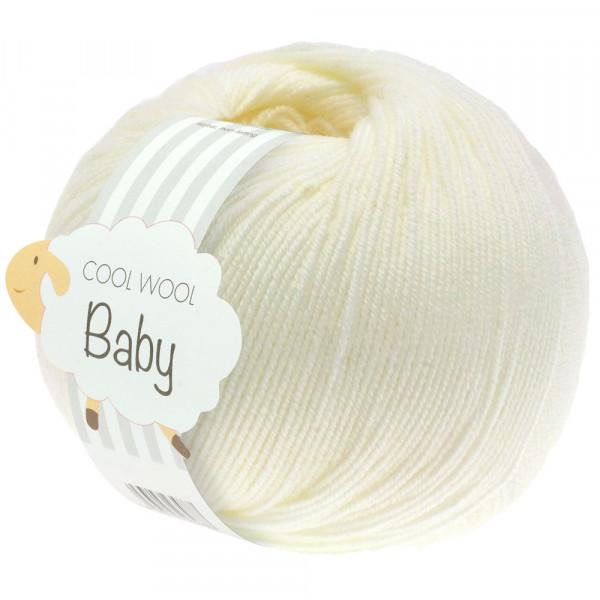 Lana Grossa Cool Wool Baby 213 Rohweiß 50g