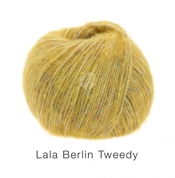 Lana Grossa lala Berlin Tweedy 009 Gelb 50g