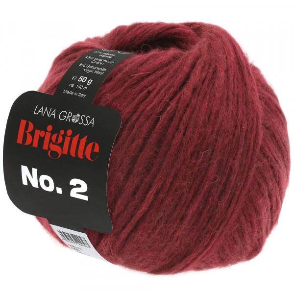 Lana Grossa Brigitte No.2 033 Bordeaux 50g