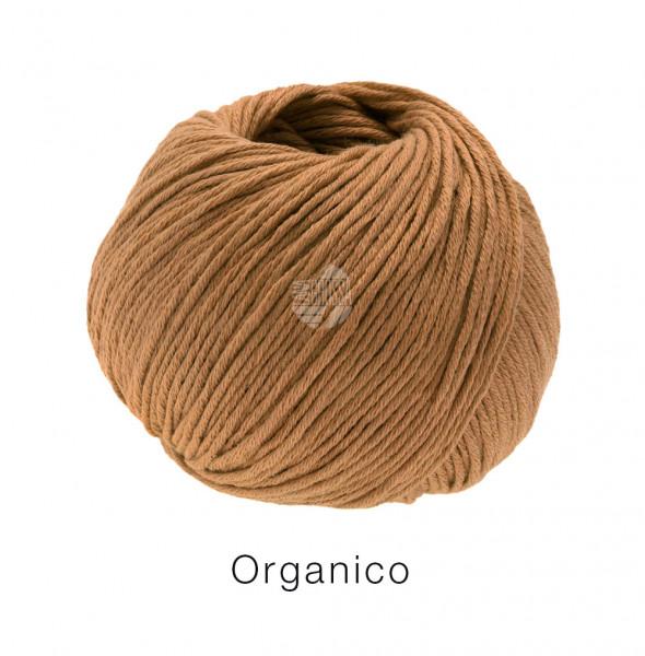 Lana Grossa Organico 133 Zimtbraun 50g