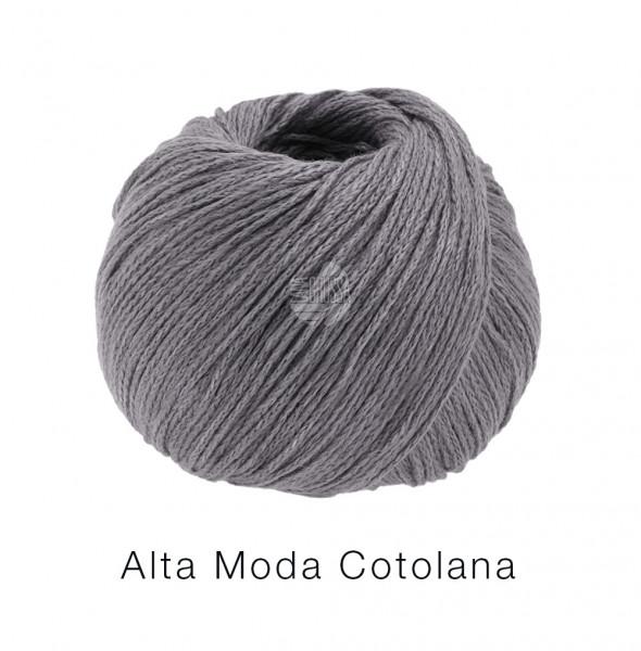 Lana Grossa Alta Moda Cotolana 016 Dunkelgrau 50g