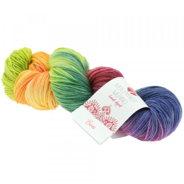 Lana Grossa Meilenweit 100 Merino Hand-Dyed 409 Beas 100g