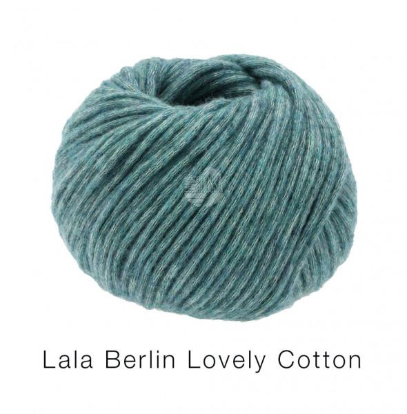 Lana Grossa Lala Berlin Lovely Cotton 018 Petrol 50g