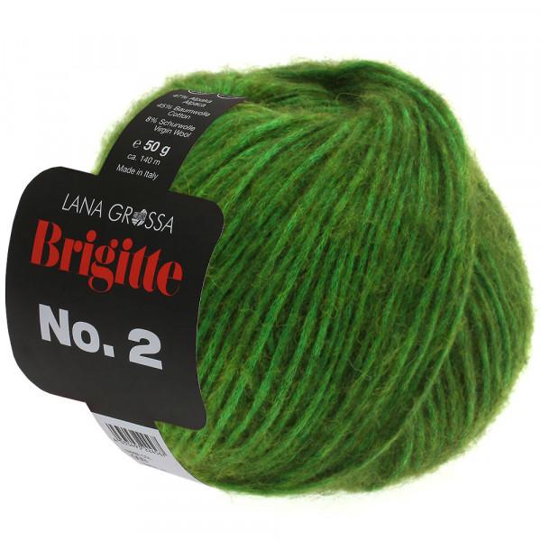 Lana Grossa Brigitte No.2 001 Apfelgrün 50g
