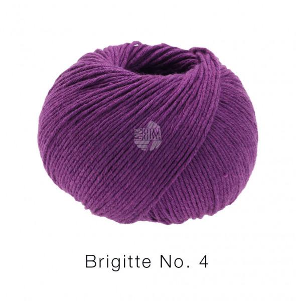 Lana Grossa Brigitte No.4 024 Rotviolett 50g