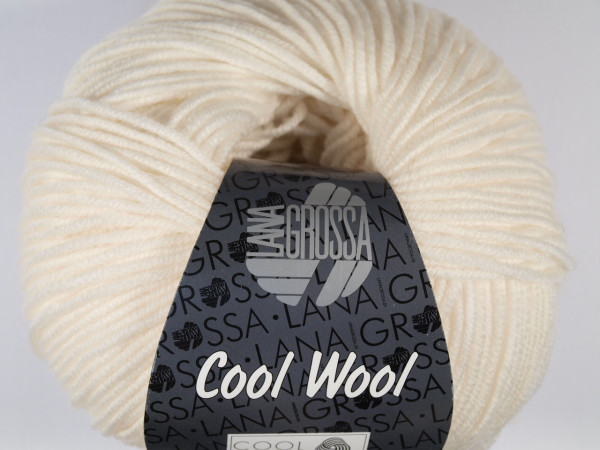 Lana Grossa Cool Wool 2000 431 Weiß
