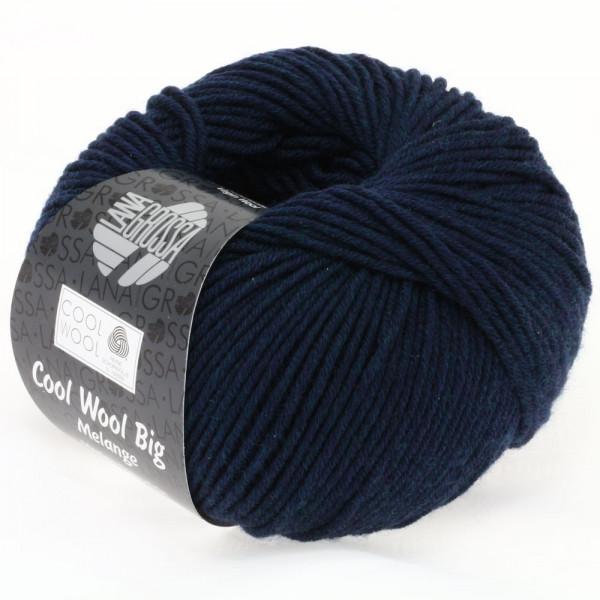 Lana Grossa Cool Wool Big Melange 314 Marine meliert 50g