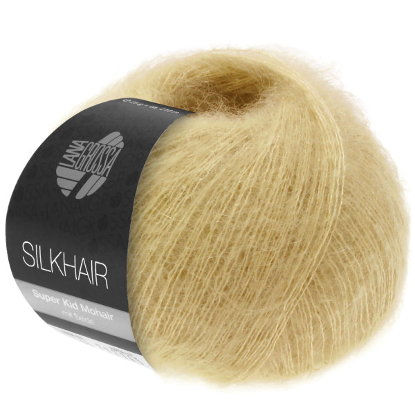 Lana Grossa Silkhair 153 Sandgelb