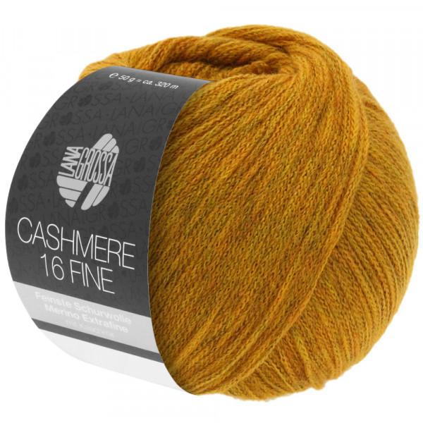 Lana Grossa Cashmere 16 Fine 038 Goldgelb 50g