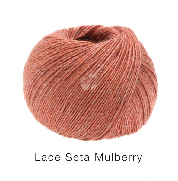 Lana Grossa Lace Seta Mulberry 011 Terracotta 50g