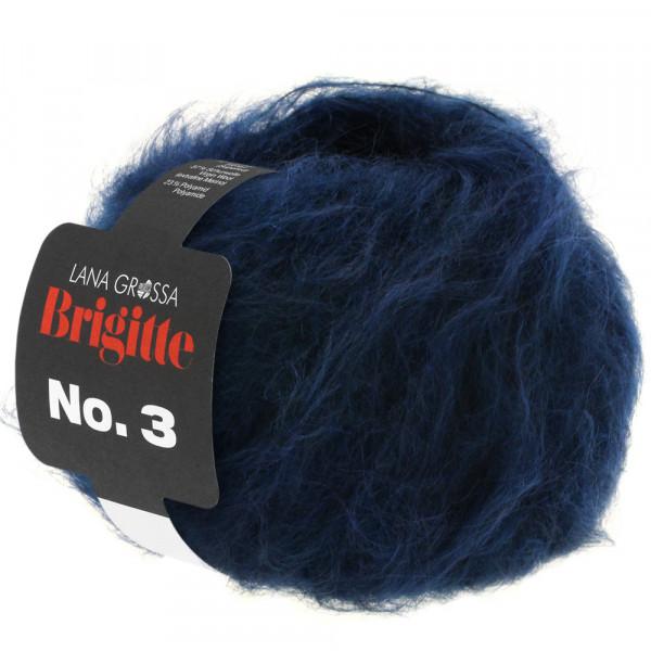 Lana Grossa Brigitte No.3 012 Nachtblau 25g