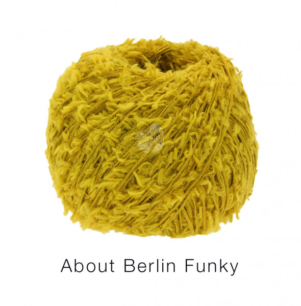 Lana Grossa About Berlin Funky 013 Curry 50g