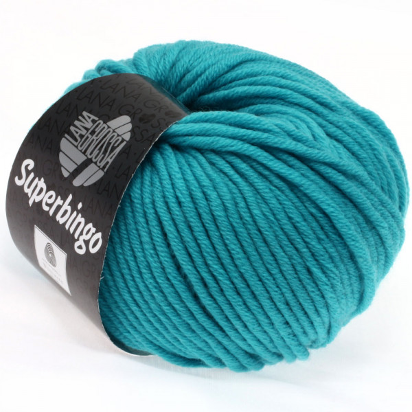 Lana Grossa Superbingo 002 Türkis 50g