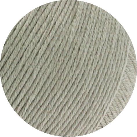 Lana Grossa Soft Cotton 004 Graubeige 50g