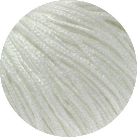 Lana Grossa Linarte 017 Weiß 50g
