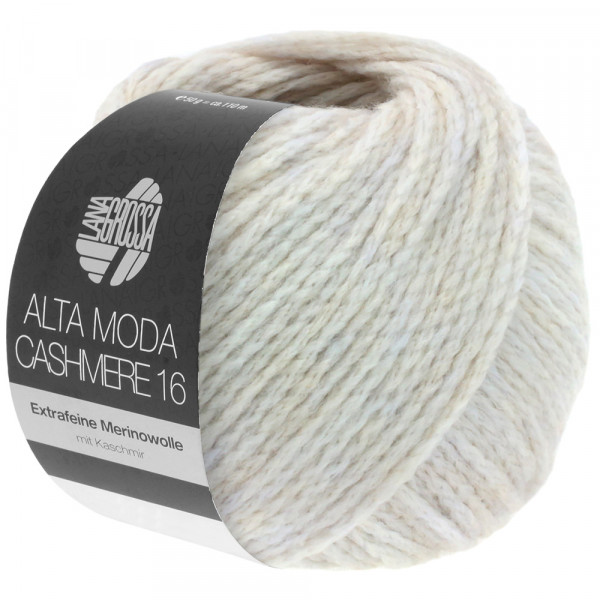Lana Grossa Alta Moda Cashmere 16 041 Blütenweiß 50g