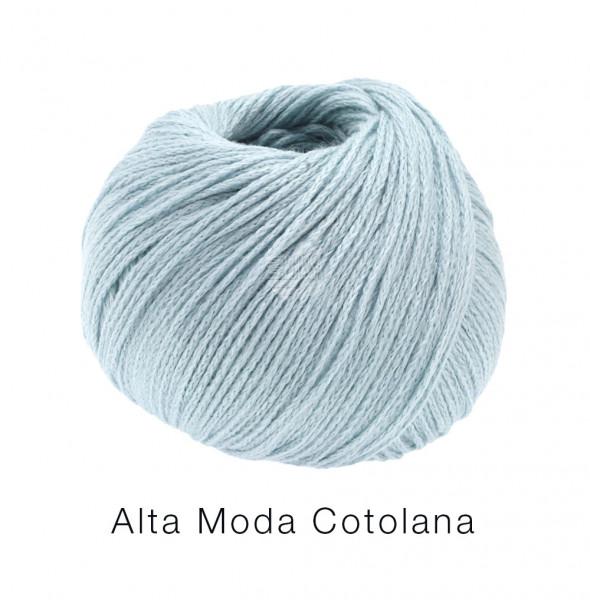 Lana Grossa Alta Moda Cotolana 011 Eisblau 50g