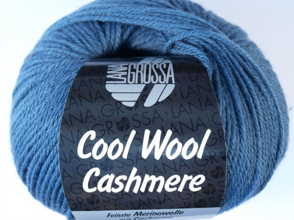 Lana Grossa Cool Wool Cashmere - Taubenblau