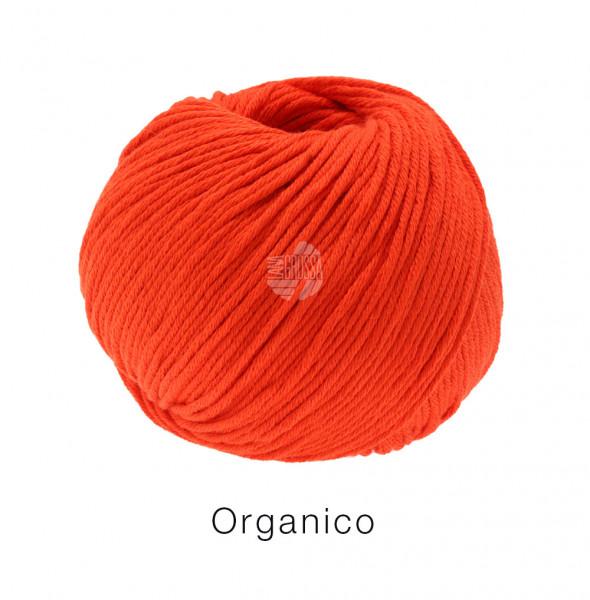 Lana Grossa Organico 125 Feuerrot 50g