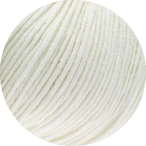 Lana Grossa Organico 007 Weiß 50g