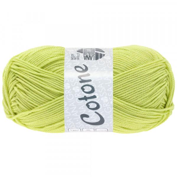 Lana Grossa Cotone 077 Zitrusgelb 50g