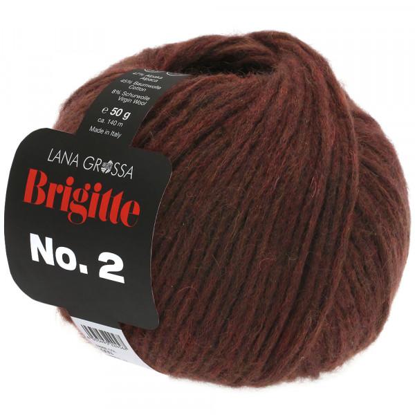 Lana Grossa Brigitte No.2 035 Mokka 50g