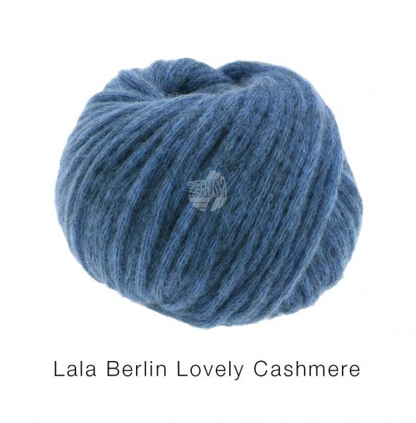 Lana Grossa lala Berlin Lovely Cashmere 018 Blau 25g