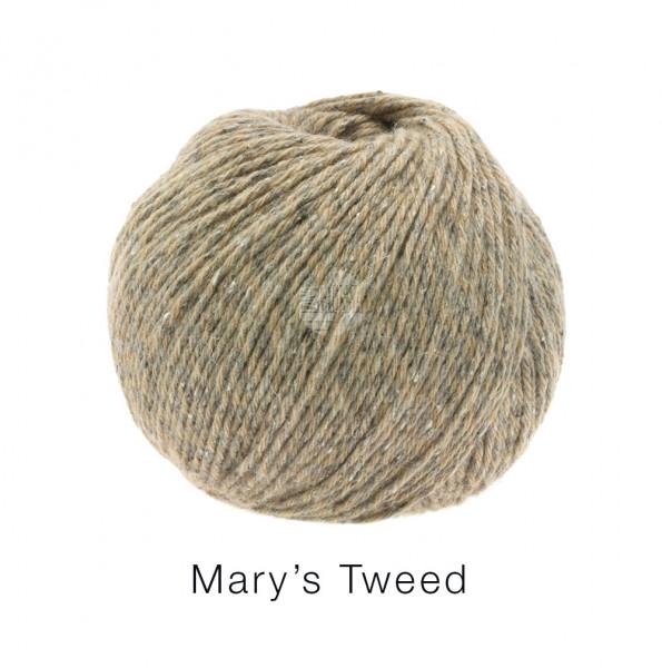 Lana Grossa Mary's Tweed 001 Beige 50g