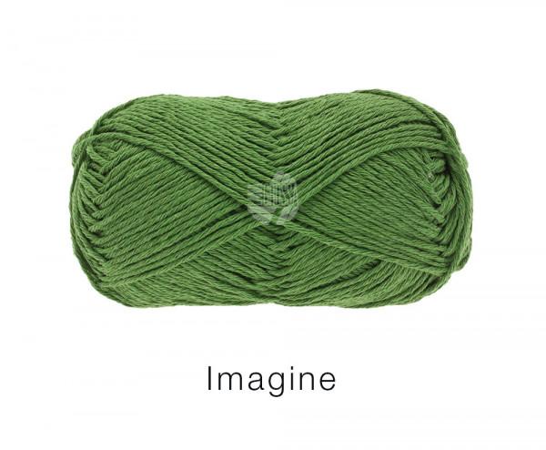 Lana Grossa Imagine 017 Blattgrün 50g