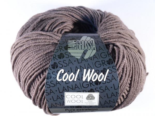 Lana Grossa Cool Wool 2000 - Graubraun