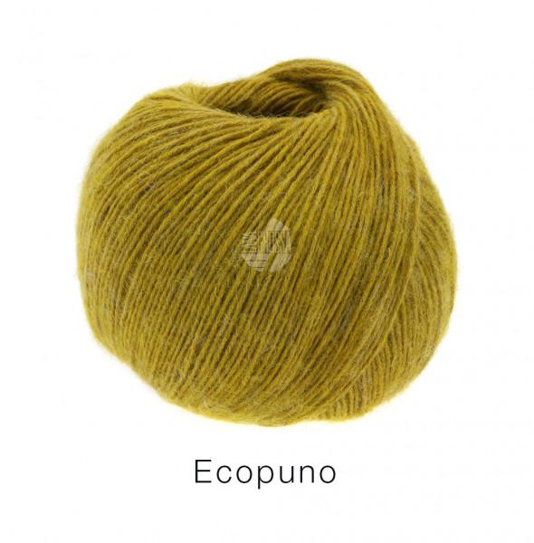 Lana Grossa Ecopuno 053 Currygelb 50g