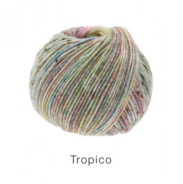 Lana Grossa Tropico 001 Pistazie/Lindgrün/Terracotta/Khaki/Zyklam/Lila/Rosa/Gelb 50g
