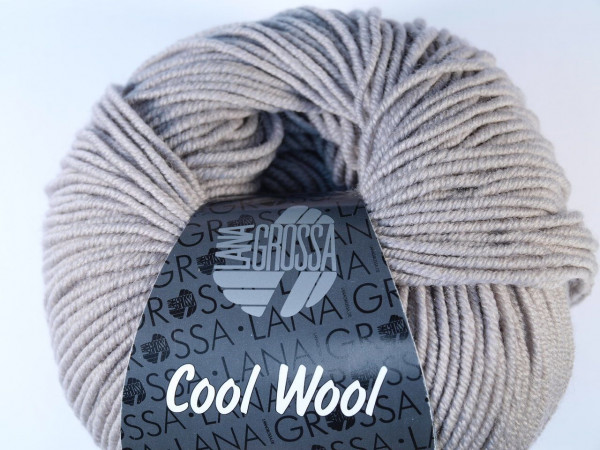 Lana Grossa Cool Wool 2000 - Grége
