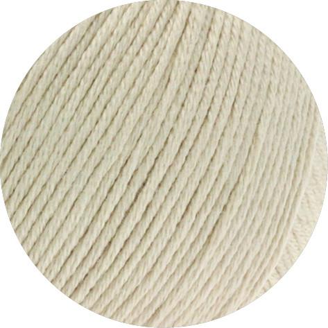 Lana Grossa Soft Cotton 003 Beige 50g